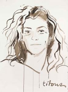 Portrait de Florence par Titouan