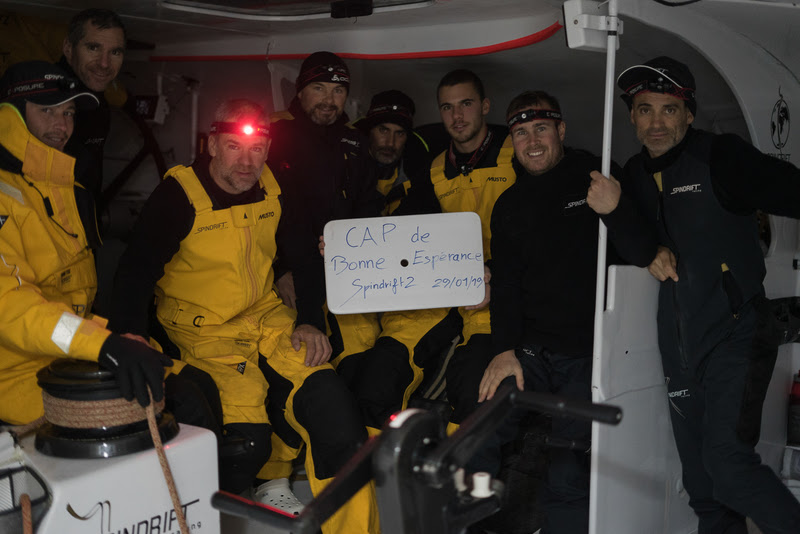 JANUARY 24TH 2019 - Day 12 - Onboard Spindrift 2.